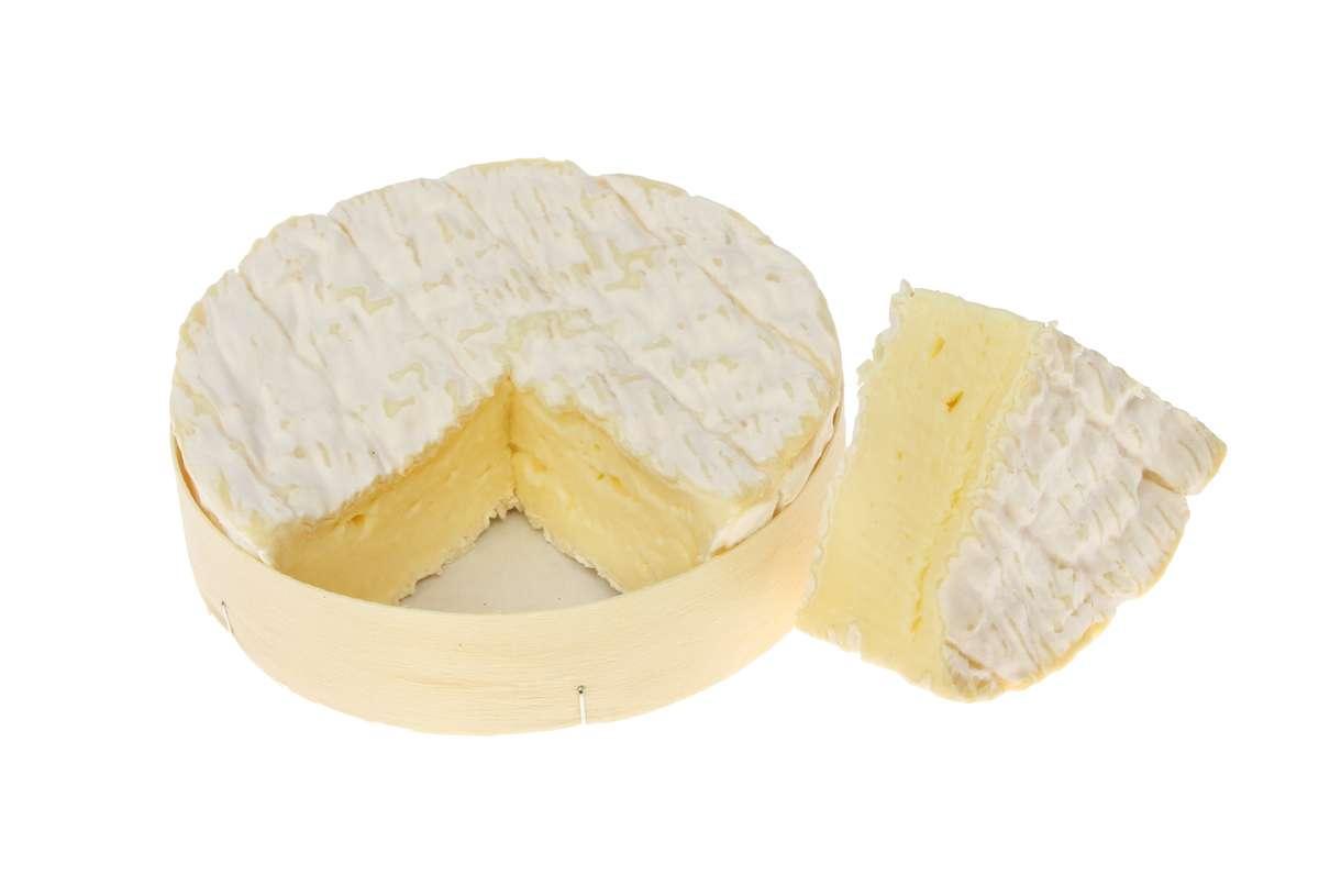 """Camembert de Normandie """"Abbaye"""" Reaux AOP - au lait cru (environ 250 g)"""