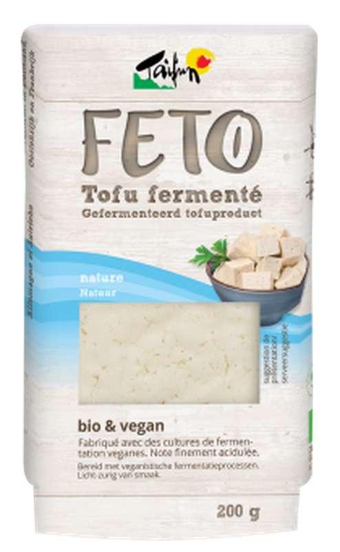 Feto nature - tofu fermenté BIO & Vegan, Taifun (200 g)