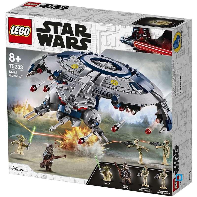 Canonnière droide Star Wars, Lego