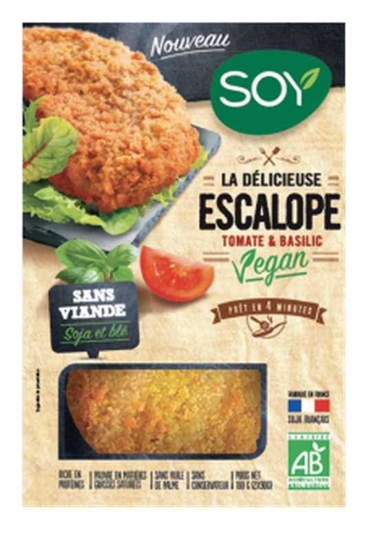 Escalope vegan tomate basilic BIO, Soy (176 g)