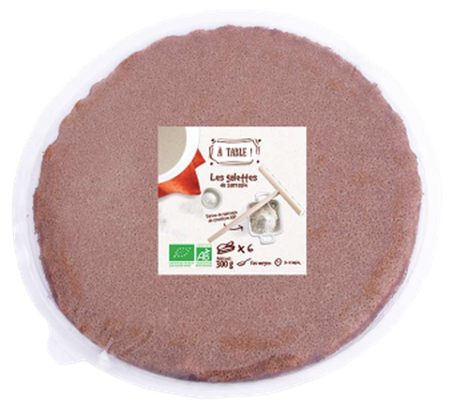 Galette de sarrasin BIO, A Table ! (x 6, 300 g)