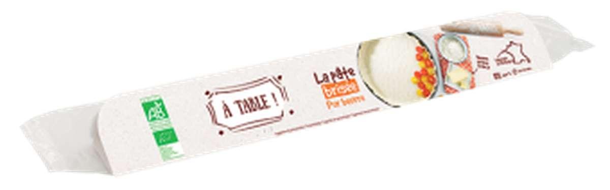 Pâte brisée pur beurre BIO, A Table ! (250 g)