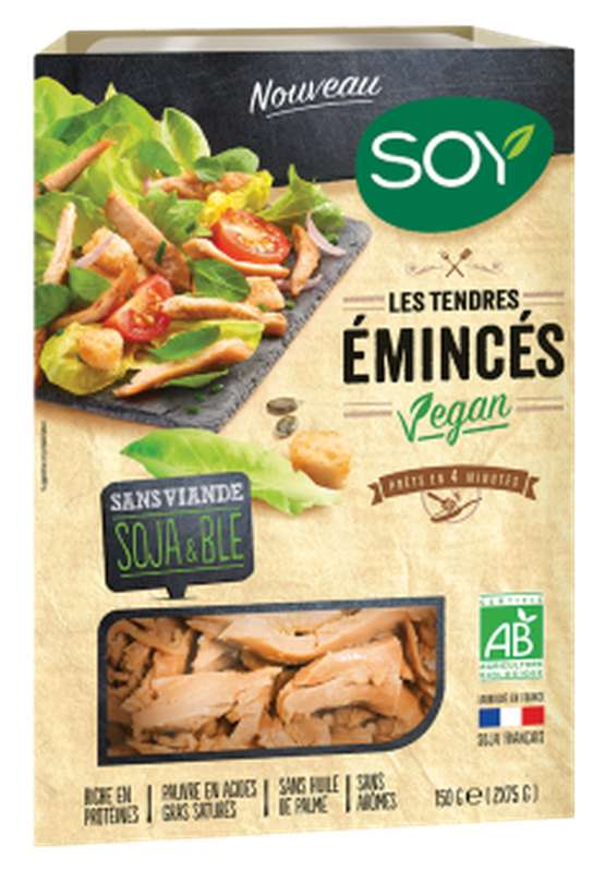 Emincés nature vegan BIO, Soy (150 g)