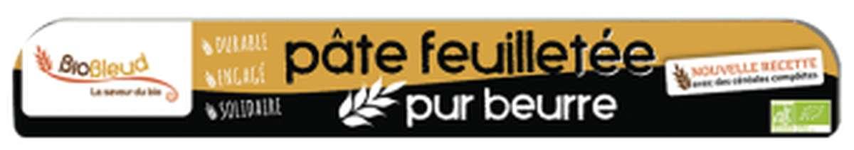Pâte feuilletée pur beurre BIO, Biobleud (250 g)