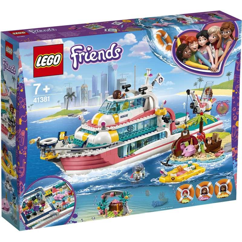 Le bateau de sauvetage, Lego