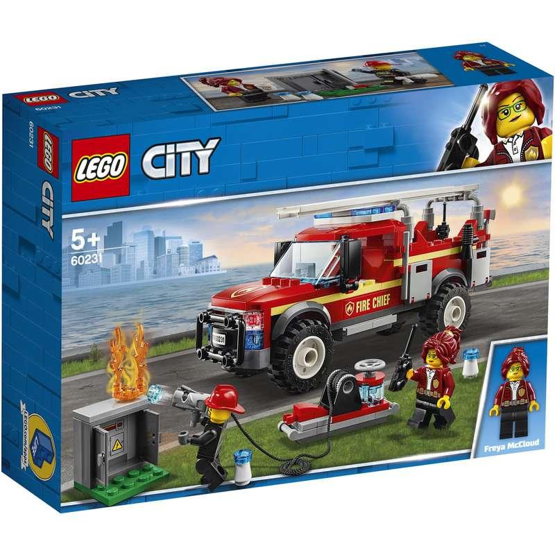Le camion du chef des pompiers, Lego