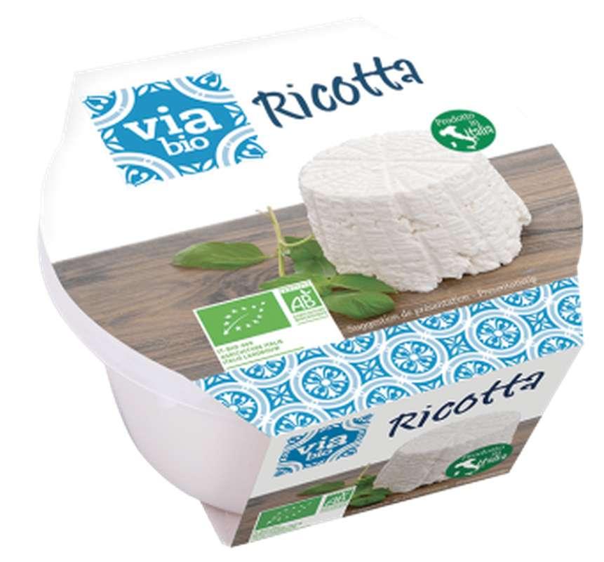 Ricotta BIO, 9 % MG, Via bio (250 g)