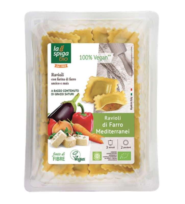 Ravioli d'épeautre aux légumes BIO, La Spiga Bio (250 g)