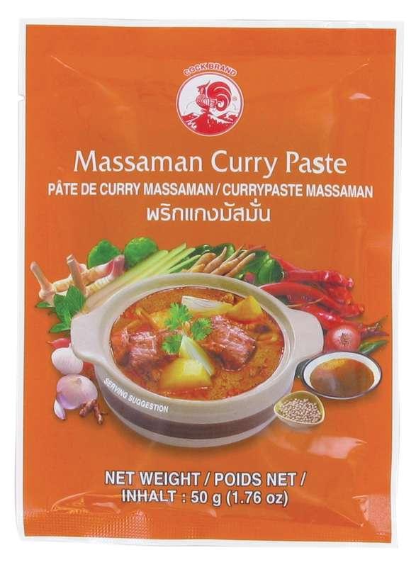 Pâte de curry matsaman, Cock (50 g)