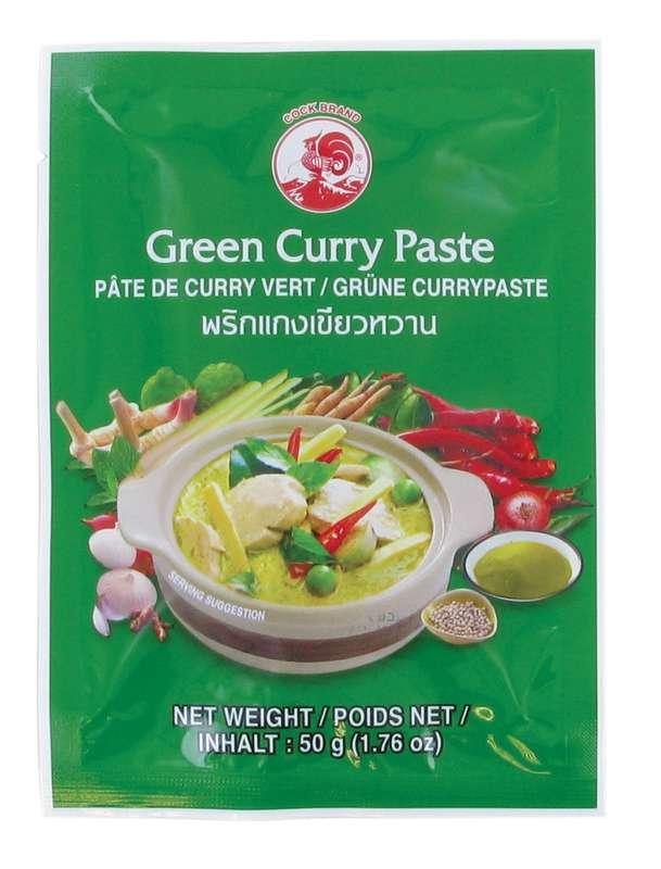 Pâte de curry vert, Cock (50 g)