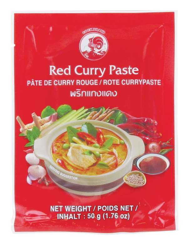 Pâte de curry rouge, Cock (50 g)