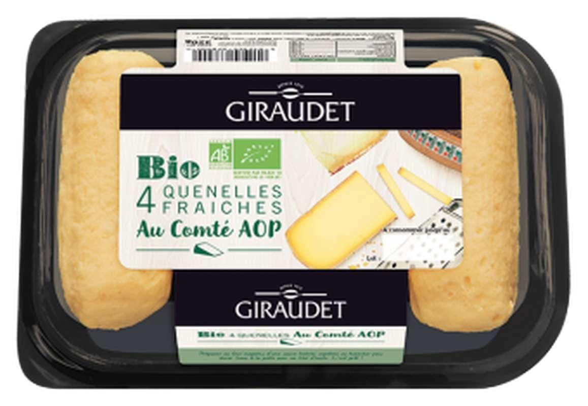 Quenelles fraiches au comté AOP BIO, Giraudet (x 4, 320 g)