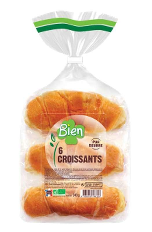 Croissants BIO, Bien (x 6, 240 g)