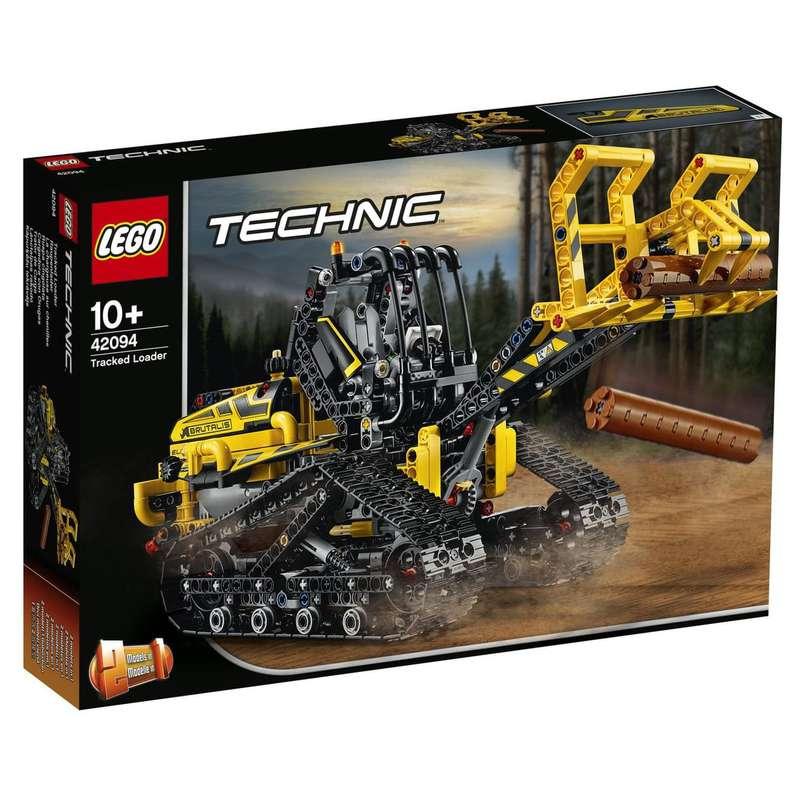 La chargeuse sur chenilles, Lego