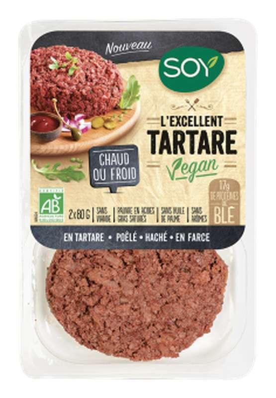 Tartare vegan BIO, Soy (x 2, 160 g)