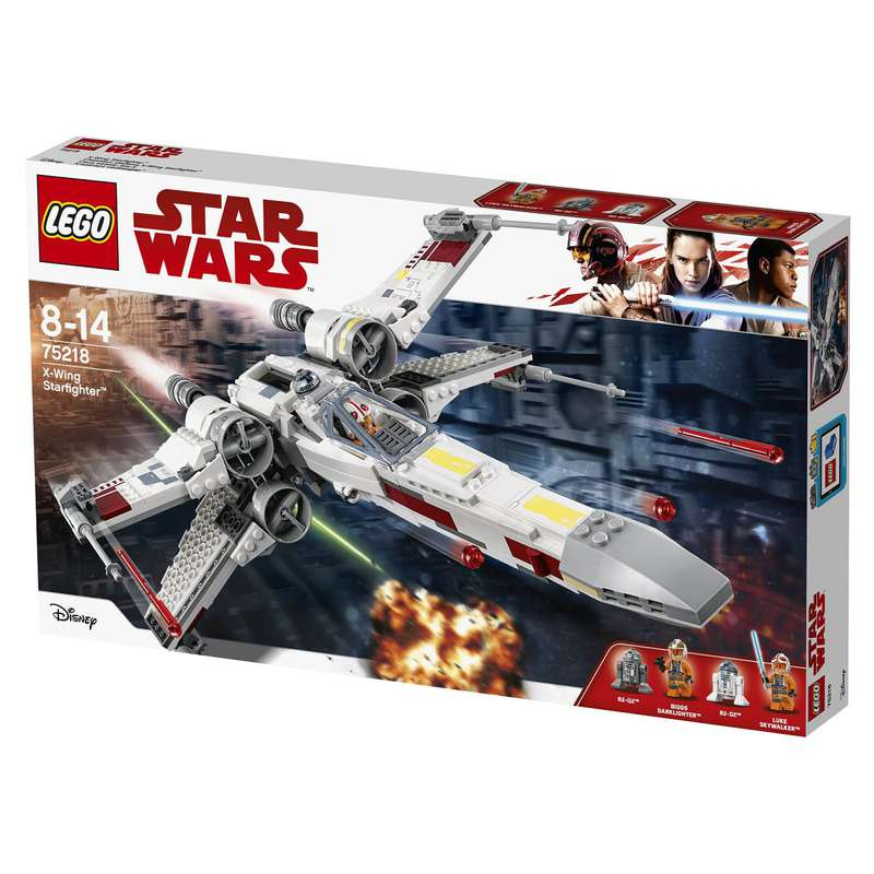 Le chasseur stellaire X-Wing Starfighter Star Wars, Lego