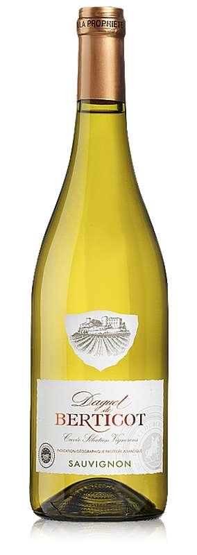 Sauvignon blanc IGP Daguet De Berticot 2019 (75 cl)
