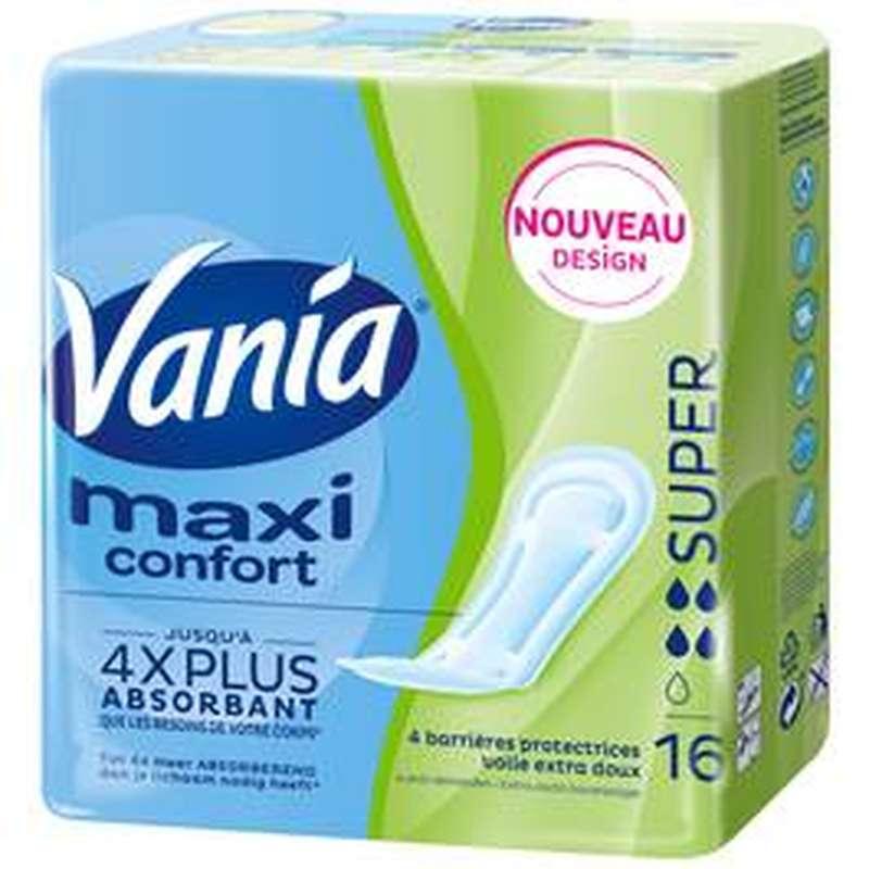 Serviettes Maxi Super, Vania (x 16)