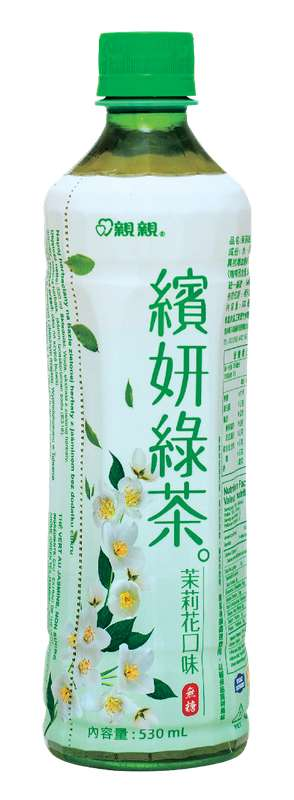 Boisson thé vert arôme jasmin sans sucres ajoutés, Chin Chin (530 ml)