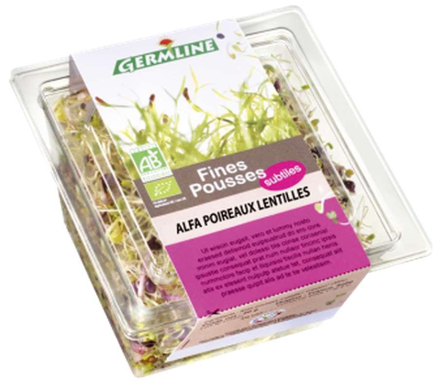 Alfalfa/poireaux/lentilles BIO, Germline (60 g)