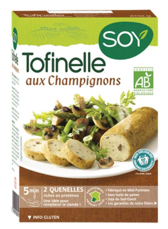 Tofinelle aux champignons BIO, Soy (200 g)
