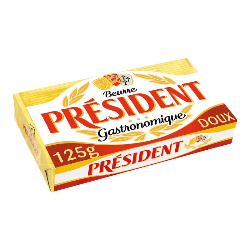 Beurre doux, Président (125 g)