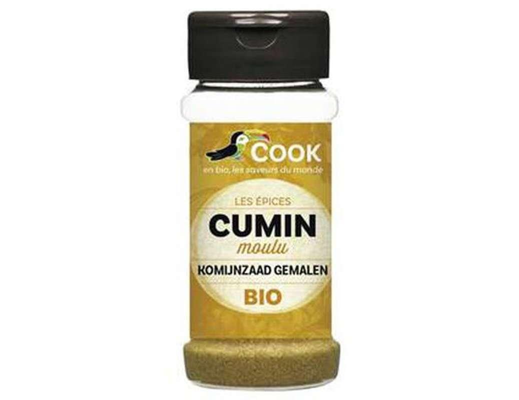 Cumin en poudre BIO, Cook (80 g)