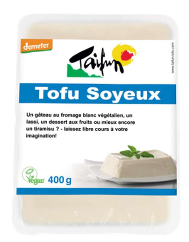 Tofu soyeux BIO, Taifun (400 g)
