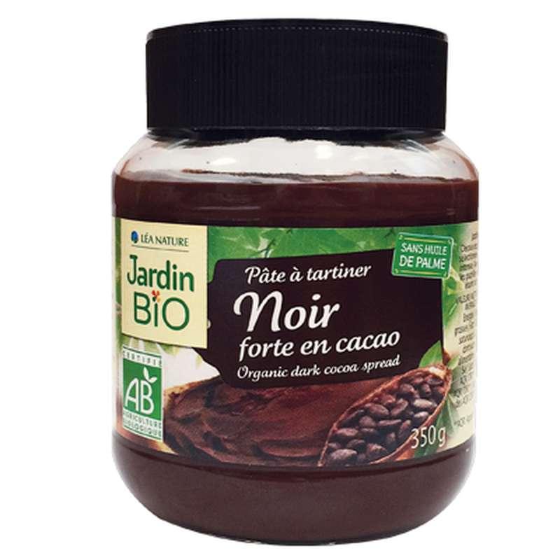 Pâte à tartiner chocolat noir BIO, Jardin Bio (350 g)