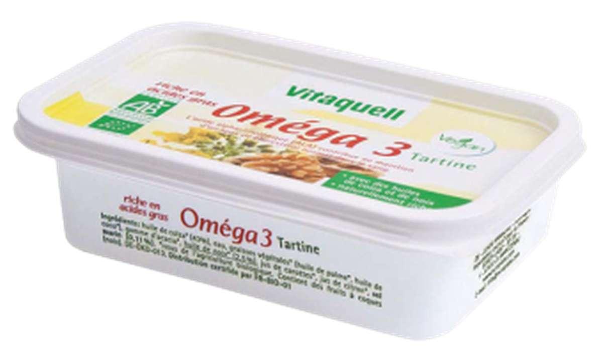 Oméga 3 à tartiner BIO, Vitaquell (250 g)