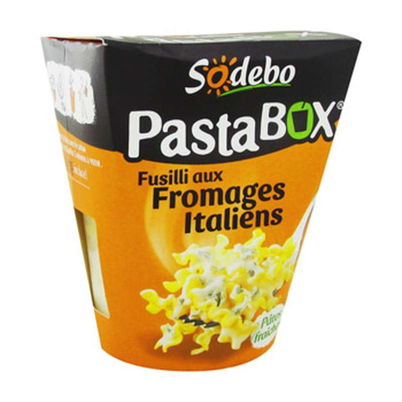 PastaBox fusilli aux fromages italiens, Sodebo (300 g)