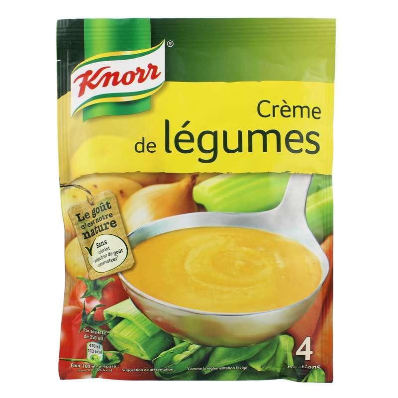 Soupe déshydratée Crème de légumes, Knorr (1 L)