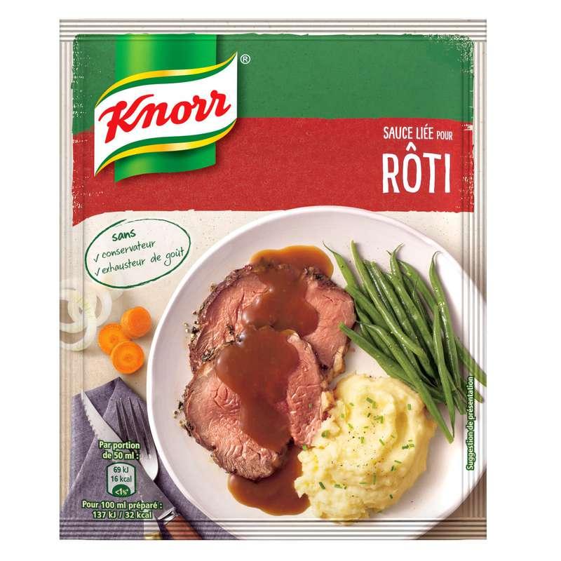 Sauce déshydratée liée pour rôti, Knorr (20 g)