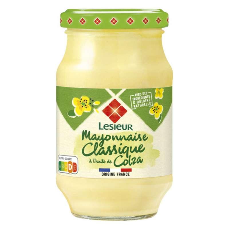 Mayonnaise classique à l'huile de colza, Lesieur (475 g)