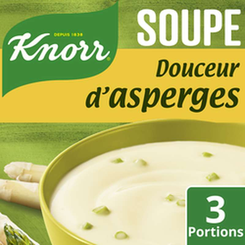 Douceur d'asperges, Knorr (75 cl)