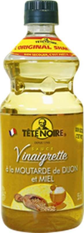 Vinaigrette à la moutarde de Dijon et au miel, Tête Noire (55 cl)