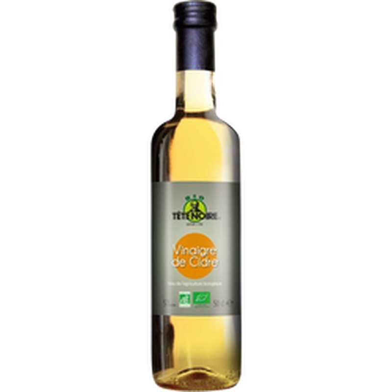 Vinaigre de cidre BIO, Tête Noire (50 cl)