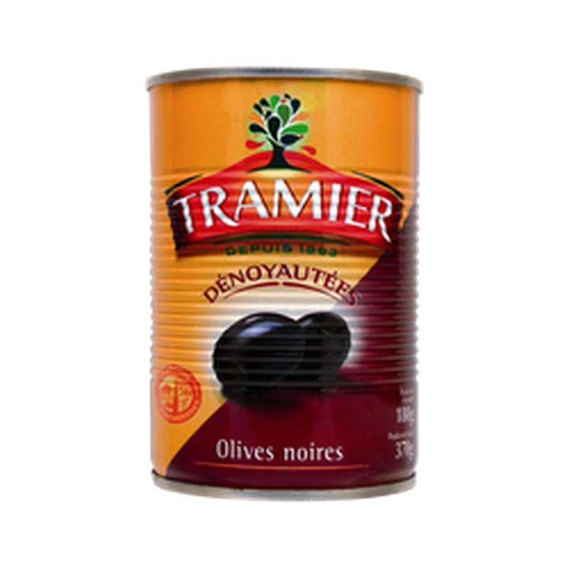 Olives noires dénoyautées, Tramier (180 g)