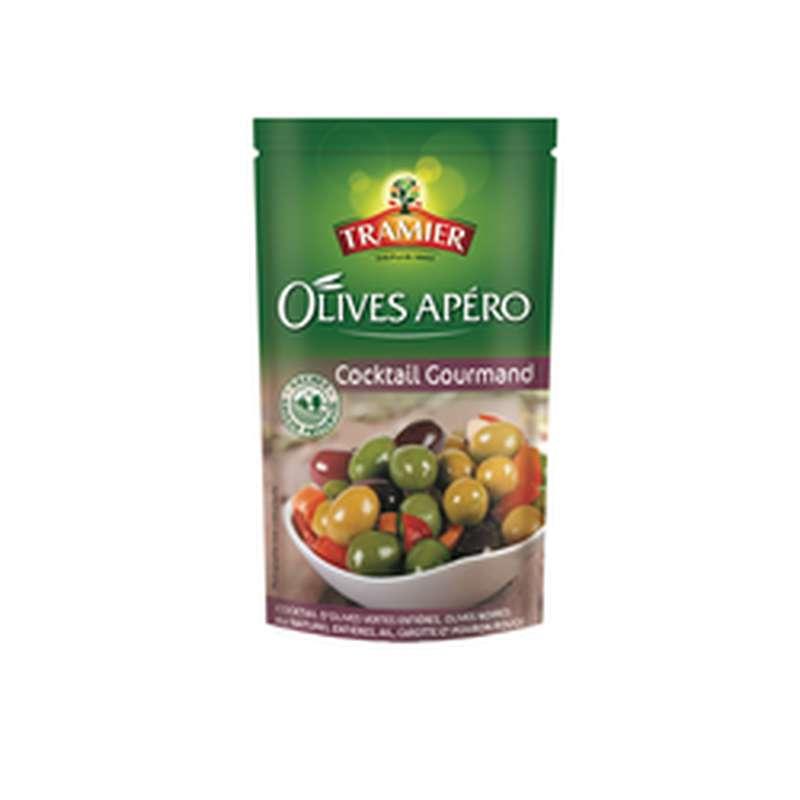 Olives cocktail gourmand, Tramier (160 g)