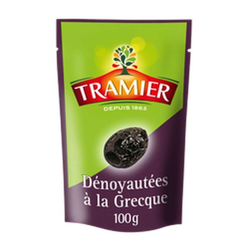 Olive noire dénoyautée à la grecque, Tramier (100 g)