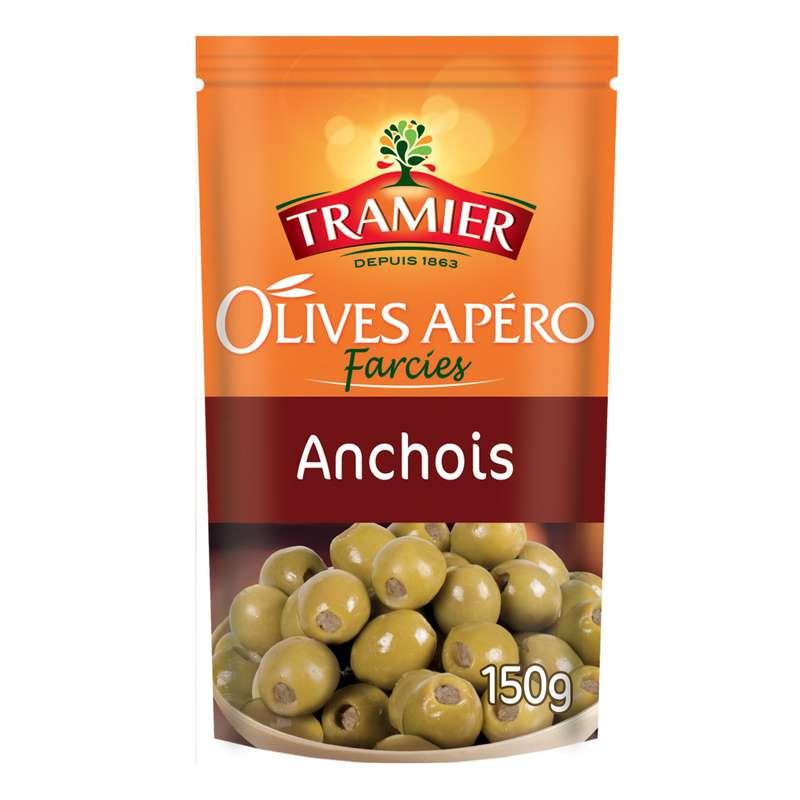 Olives vertes farcies anchois, Tramier (150 g)
