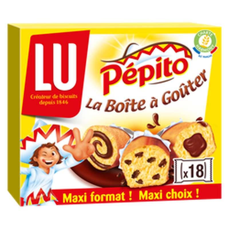 """Assortiment de gâteaux """"La Boîte à Goûter"""", Pepito (540 g)"""