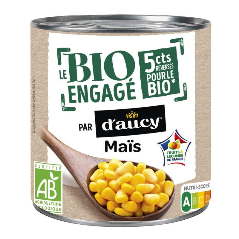 Maïs BIO, d'Aucy (285 g)