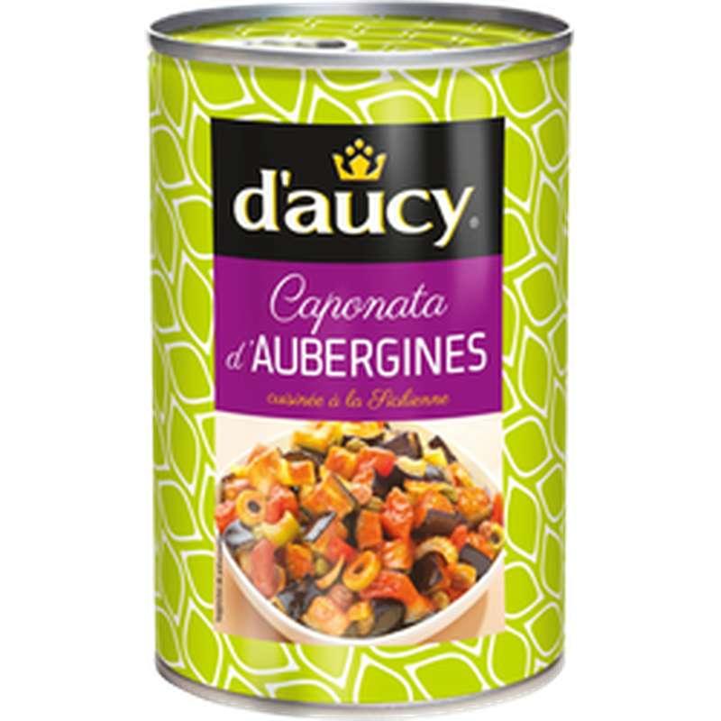 Caponata d'Aubergines, D'aucy (375g)