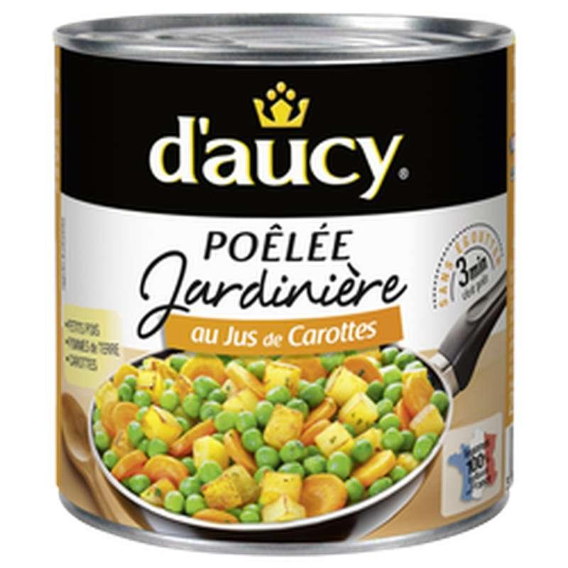 Poêlée jardinière au jus de carottes, D'aucy (290 g)