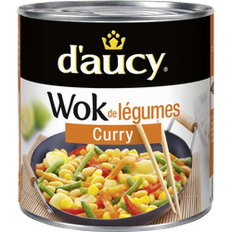 Wok de Légumes Curry, D'aucy (290 g)