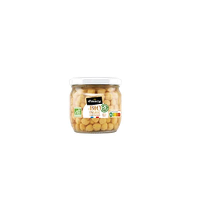 Pois chiches sans sel ajouté BIO, D'aucy (215 g)
