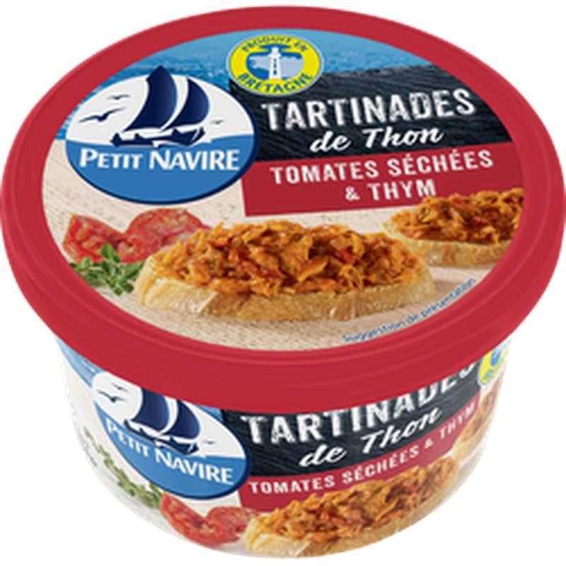 Tartinades de thon tomates séchées et thym, Petit Navire (125 g)