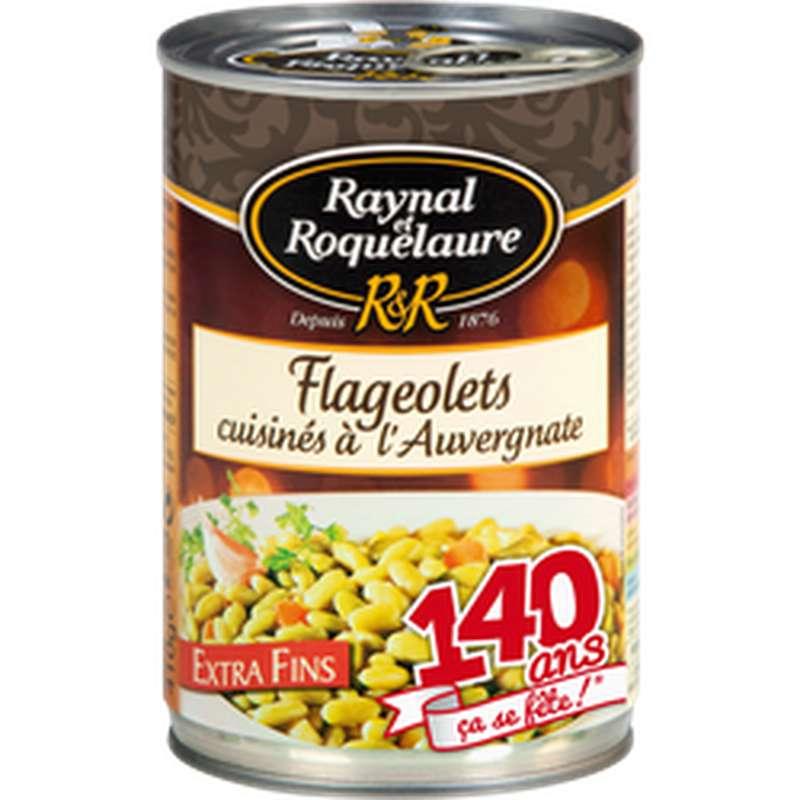 Flageolets cuisinés à l'Auvergnate, Raynal et Roquelaure (410 g)