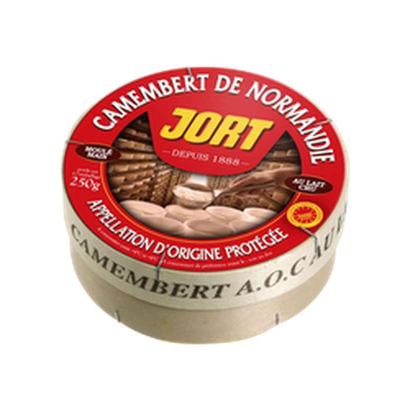 Camembert AOP au lait cru 22% MG, Jort (250 g)